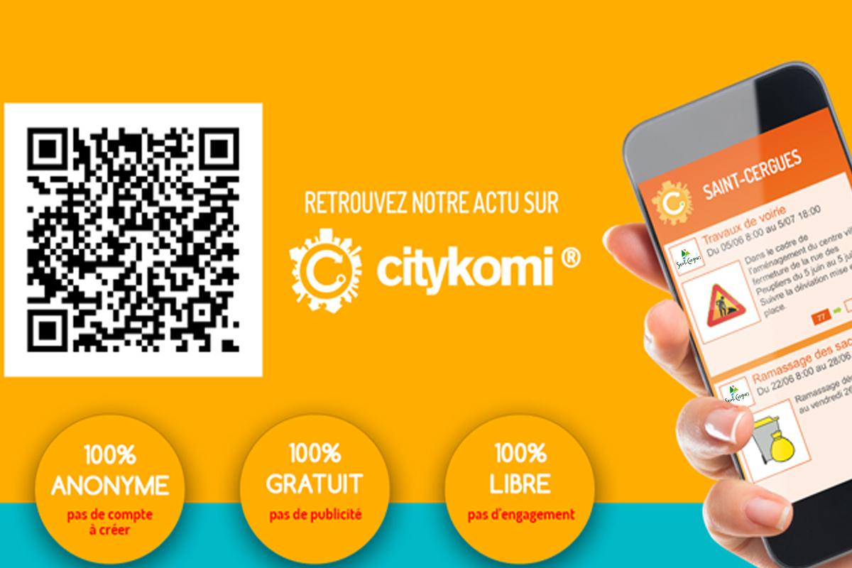 Saint-Cergues en direct sur votre smartphone!